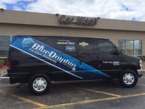 BLue Dolphin Van